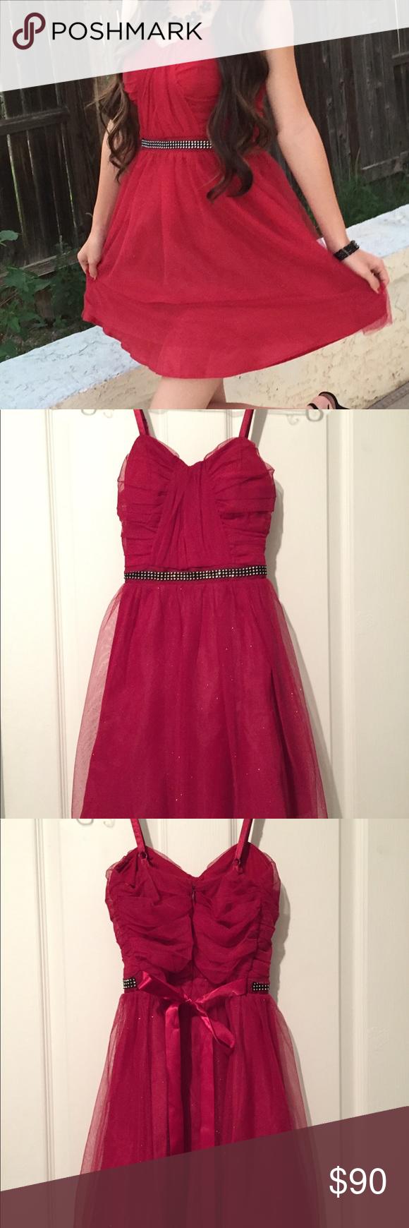 Bold red glitter party dress glitter party dress glitter party