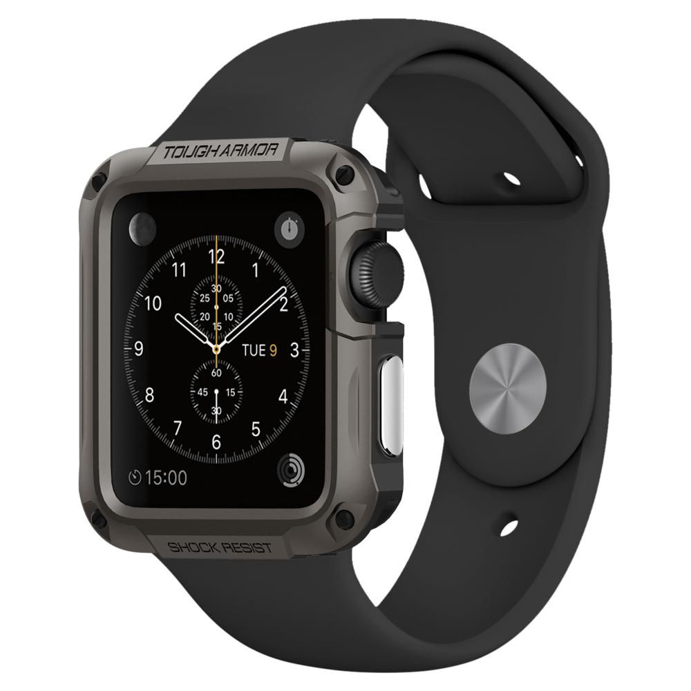 Apple Watch Series 3 2 1 42mm Case Tough Armor Apple Watch Accessories Best Apple Watch Spigen Apple Watch