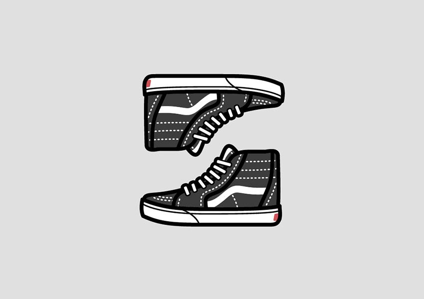 Pin Oleh Aleksandra Stefanova Di Logo Design Sepatu Desain