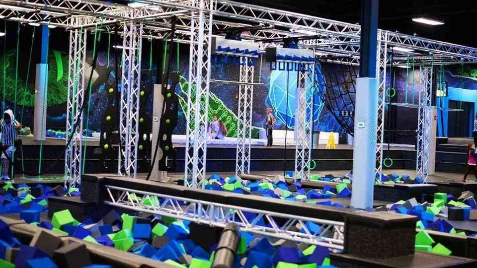 Extreme Air Sports Park Opens In Sparks Air Sport Sport Park Trampoline Park