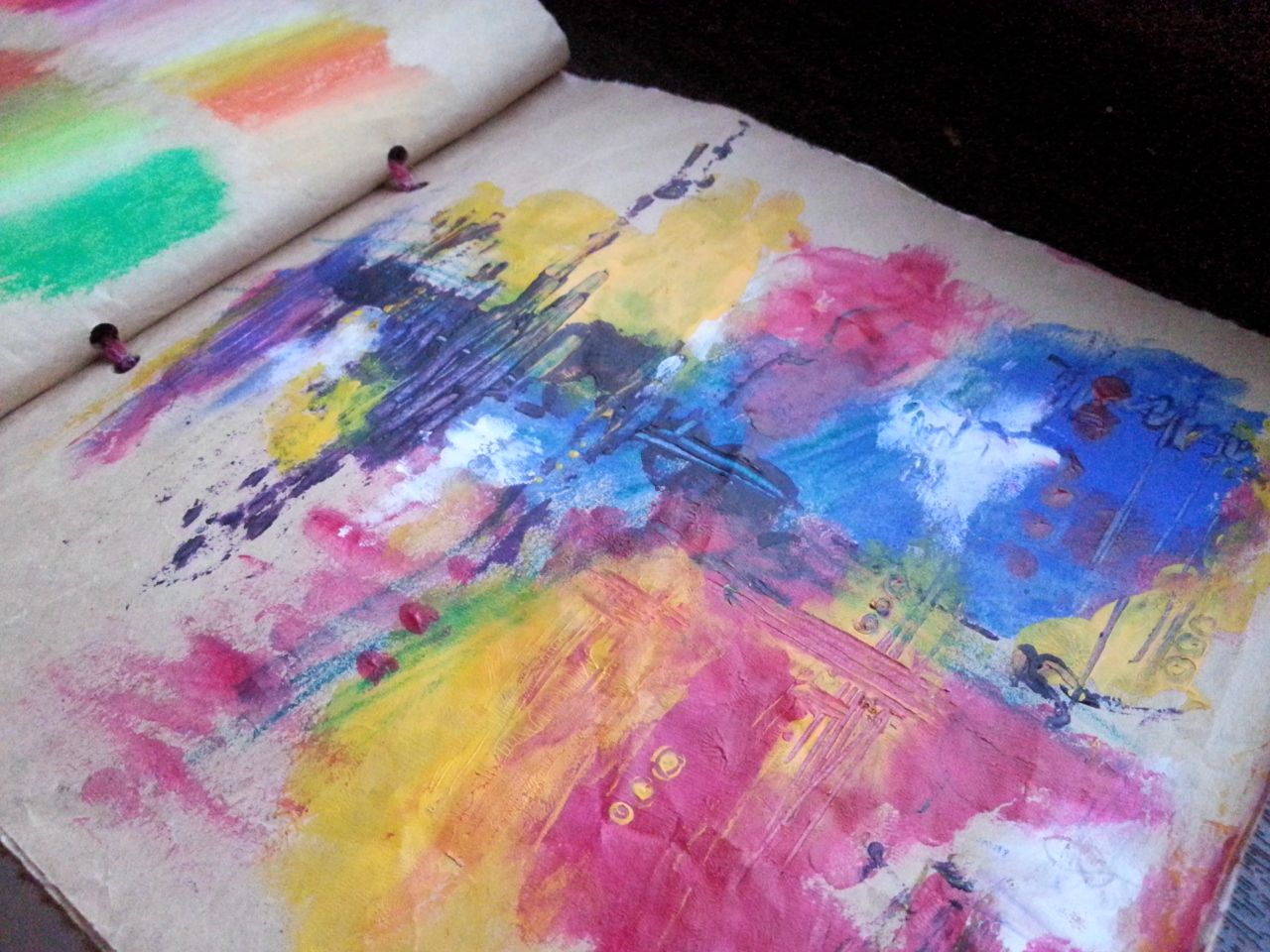 The easiest and least expensive way to make an art journal for Least expensive house to build