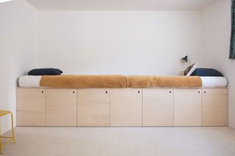 Photo of 5 custom made plywood bed ideas to steal – Petit & Small