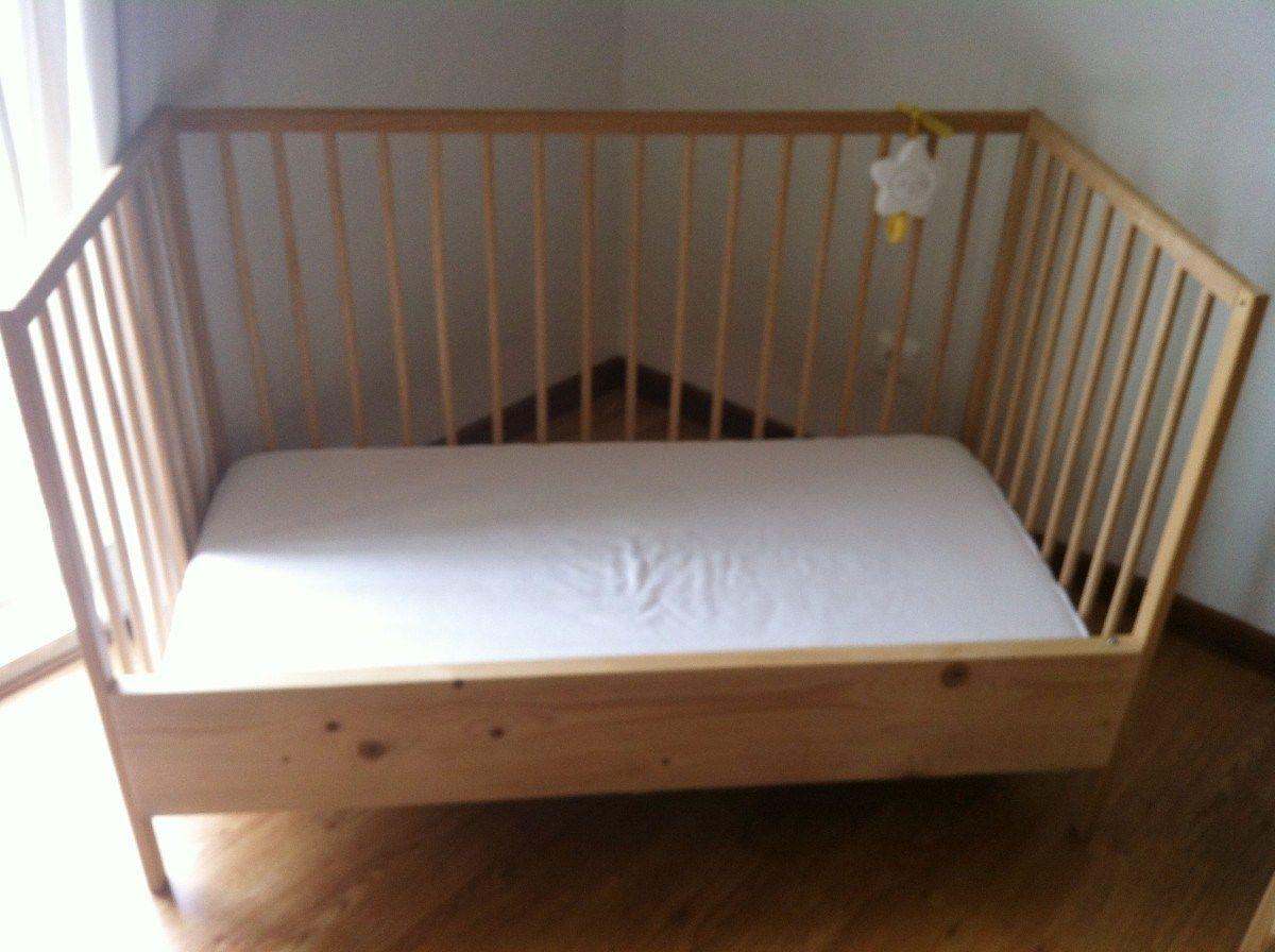 Sniglar Crib To Sleeper Ikea Hackers Ikea Crib Diy Toddler Bed Ikea Sniglar Crib