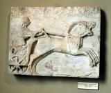 Relief of a Charioteer, Archaic, 6th C. BC, Cyzicus (Erdek),  Istanbul Archaeological Museum