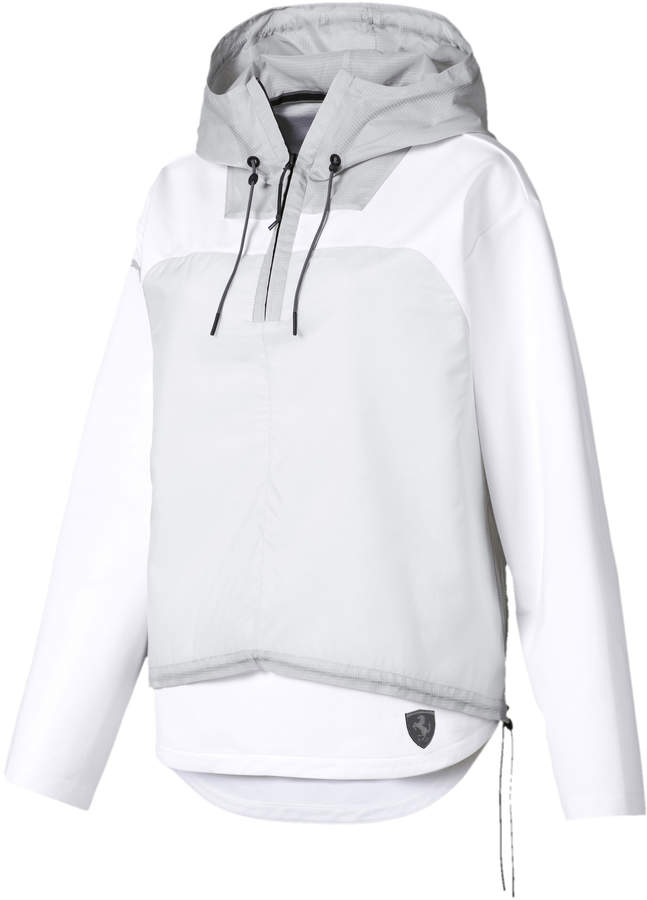 puma ferrari jacket white