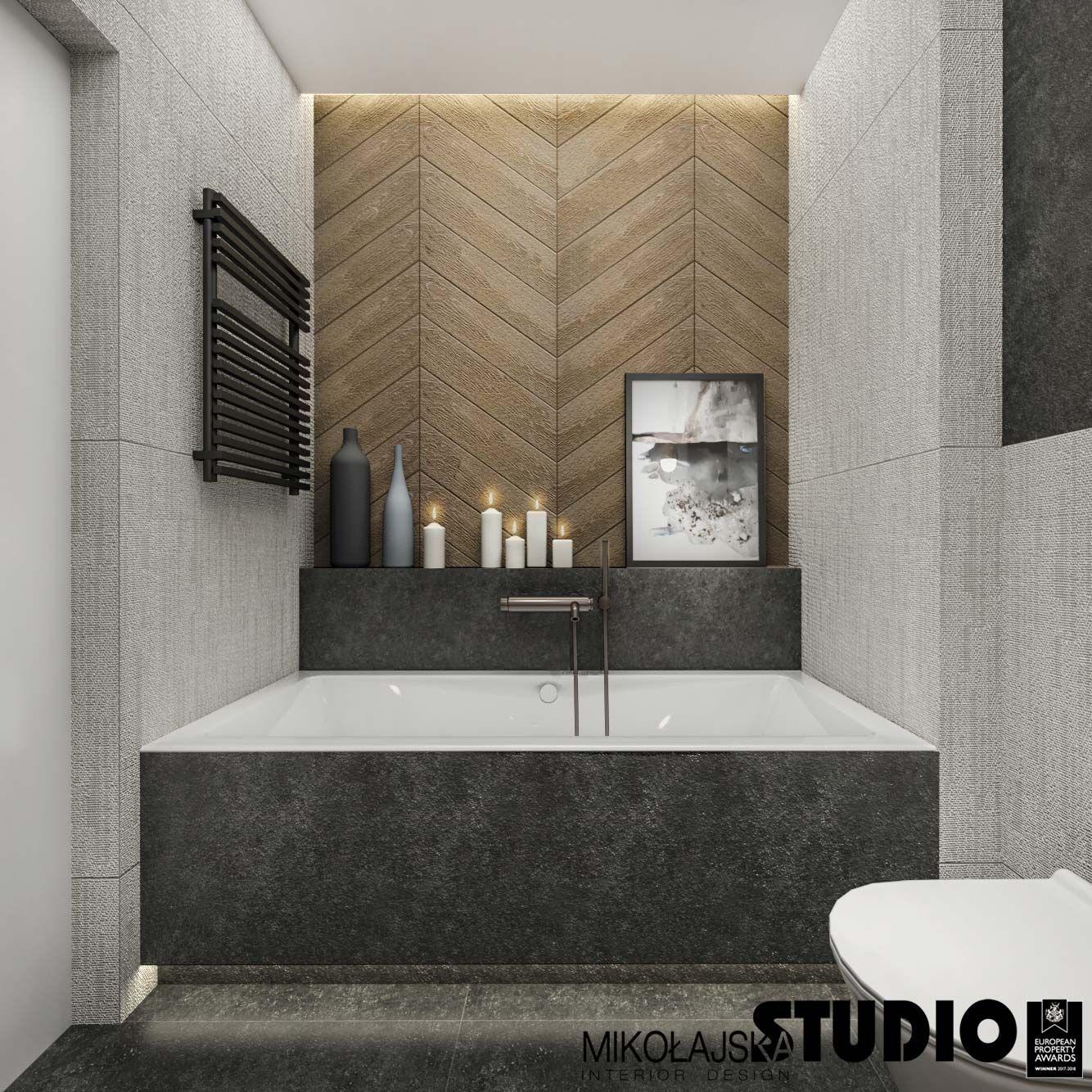 Wanna Czarny Grzejnik Jodelka Francuska Na Scianie Ciemne Plytki Bathroom Mirror Bathroom Inspo Bathroom