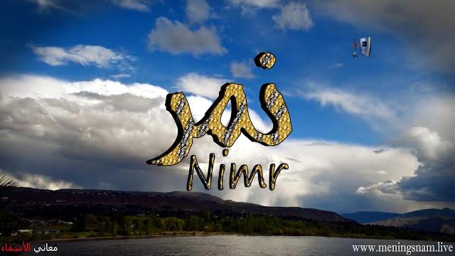 معنى اسم نمر وصفات حاملة هذا الاسم Nimr Natural Landmarks Neon Signs Landmarks