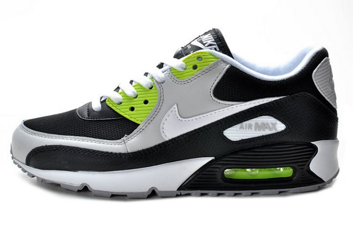 check out af156 46cd5 ... free shipping incroyable nike air max 90 essential gris blanc noir volt  homme jeu moins cher ...
