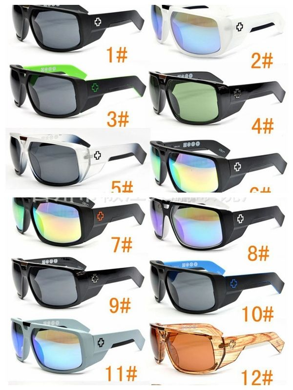 aae2e7fb865 14 colors hot sale touring SPY sunglasses colorful reflective spy men s  sunglasses sports sunglasses men spy gafas de sol -spy  7.30