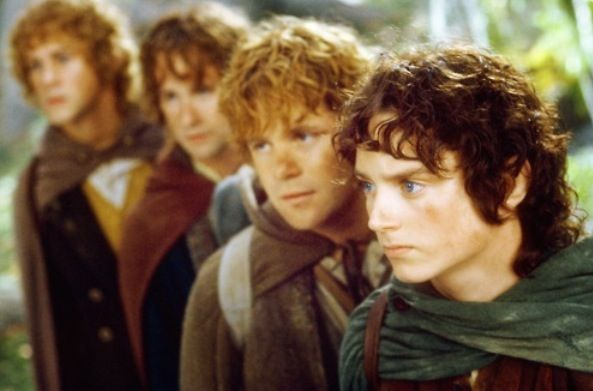 Merry Pippin Sam Frodo The Hobbit Lord Of The Rings