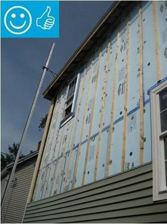 Rigid Foam Insulation For Existing Exterior Walls Building America Solution Center