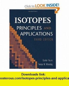 Isotopes Principles and Applications (9780471384373) Gunter