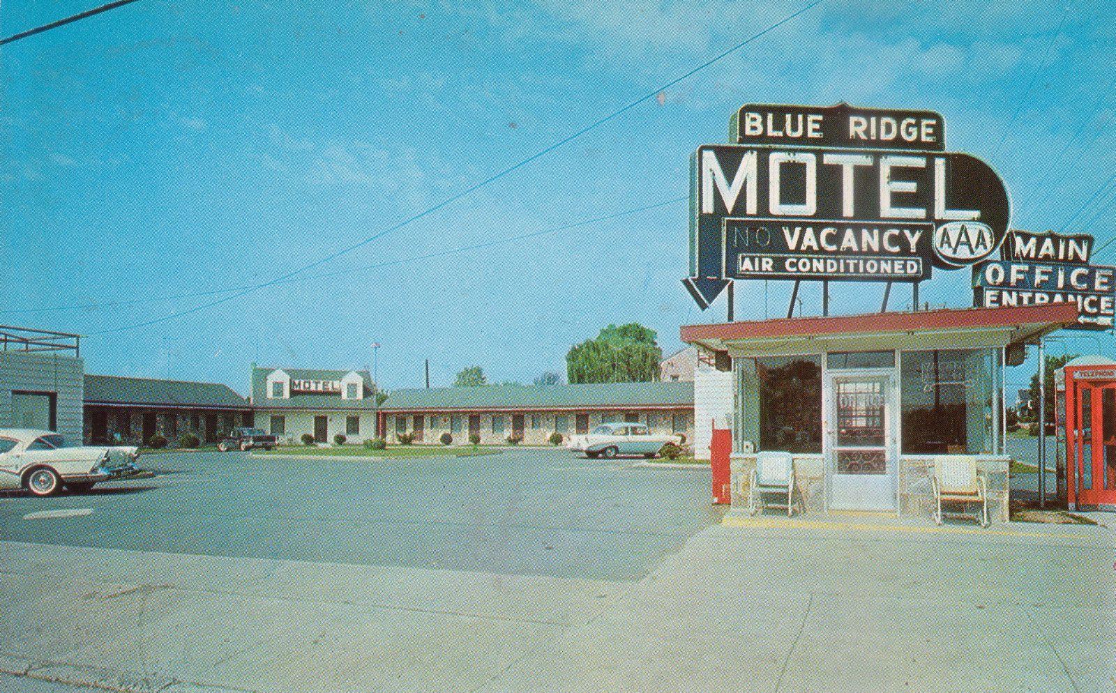 Blue Ridge Motel Front Royal Va Front Royal Motel
