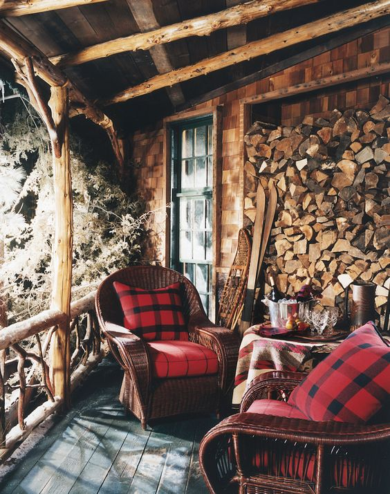 Photo of Rustic Natural Cabin-Chic Christmas Style Series | The Happy Housie