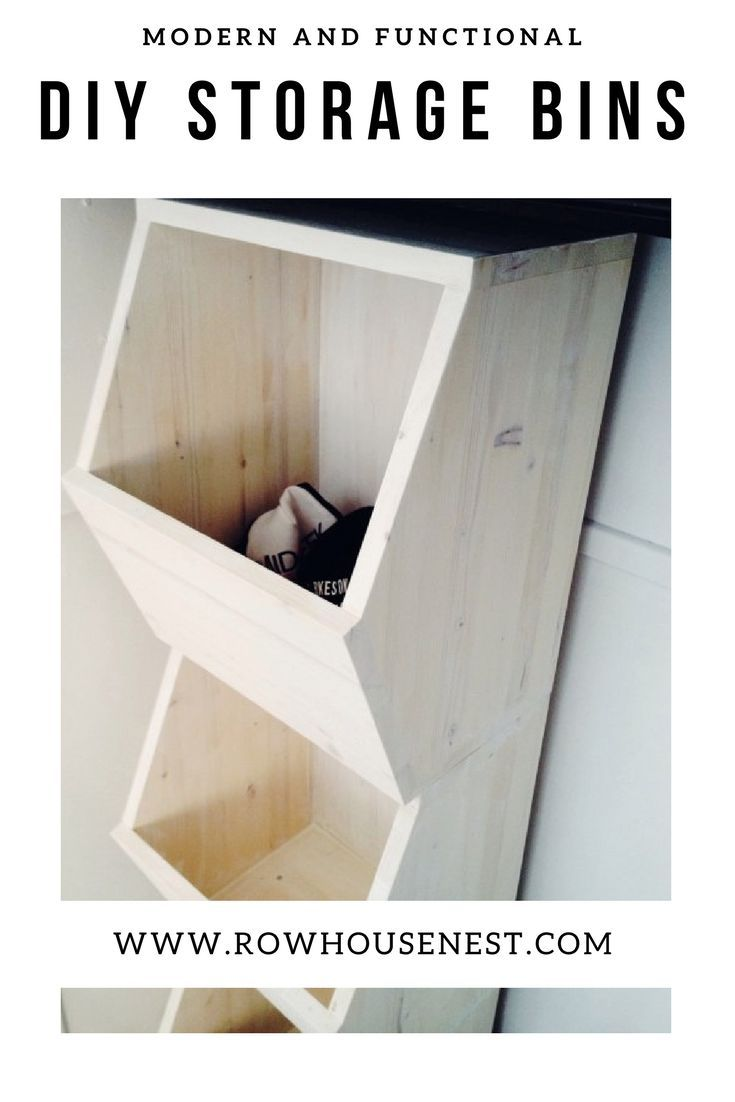 Diy Honeycomb Storage Bins Do It Yourself Today Pinterest Learn More At Help Com Furniture And