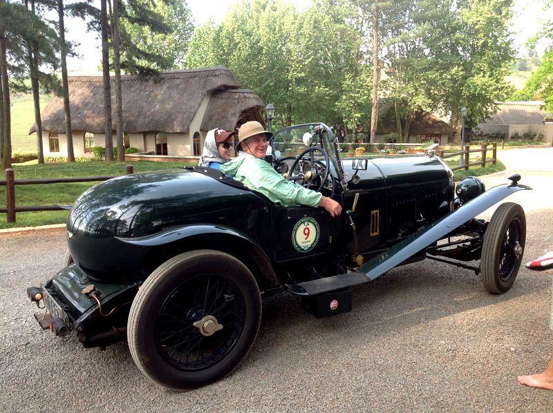 7th International Vintage Bentley Club Visit Antique