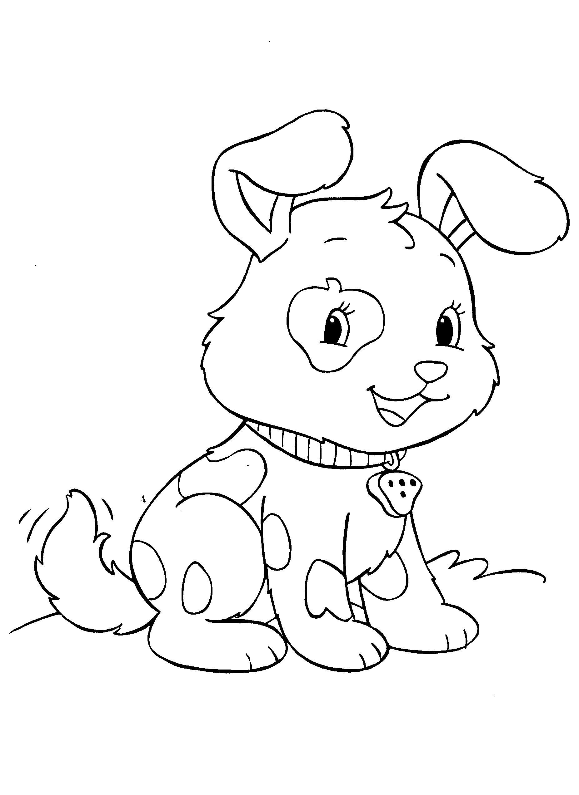 Dog Puppies Love Coloring Pages Ok Pictures Coloring Page Of A ...