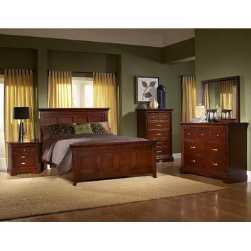 Darby Home Co Troxell Panel Customizable Bedroom Set Reviews Wayfair Cherry Bedroom Furniture Furniture Bedroom Sets