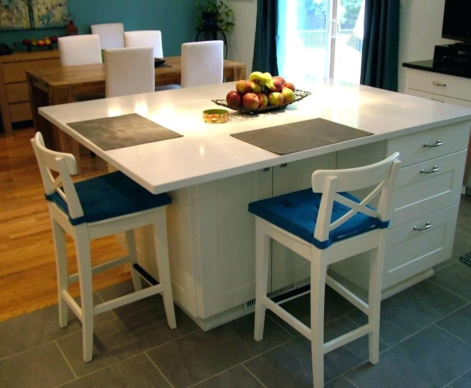 pinbill on greenbriar  kitchen island with seating
