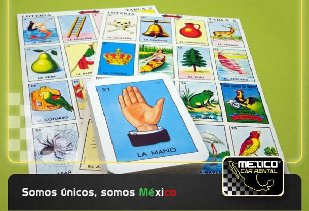 Buenos días México!!! Recuerdan la lotería Mexicana? Un juego con imágenes únicas! http://mexicocarrental.com.mx/