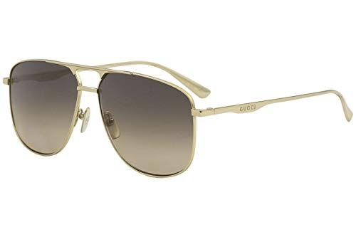 18455b48b02 Sunglasses Gucci GG 0336 S- 001 GOLD BROWN