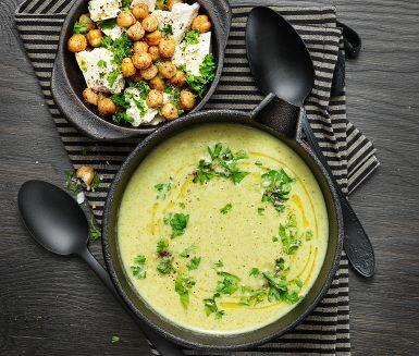 krämig broccolisoppa recept