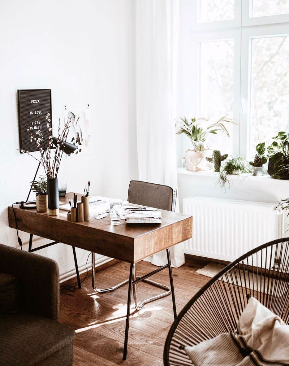The Little Desk That Could Home Office Decor House Interior Cheap Office Furniture