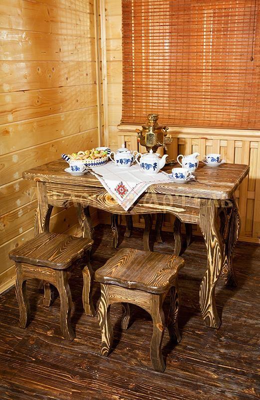 Мебель из натурального дерева столы и лав