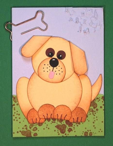 Marley & Me ATC by Plain Jane - Cards and Paper Crafts at Splitcoaststampers
