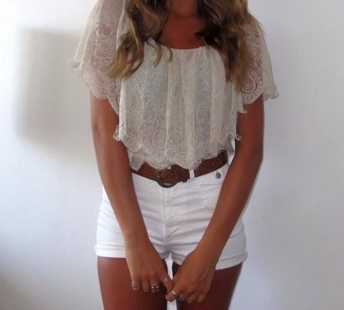 When I was going on a road trip! Super comfortable shore and shirt plus super cute Favorite outfit thus summer
