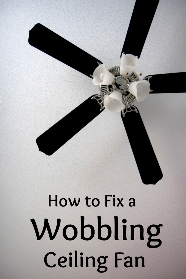 Is your ceiling fan wobbling on the high setting heres how to fix is your ceiling fan wobbling on the high setting heres how to fix the problem aloadofball Image collections