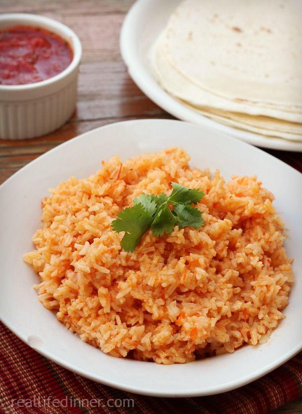 Oven Baked Spanish Rice ~ http://reallifedinner.com