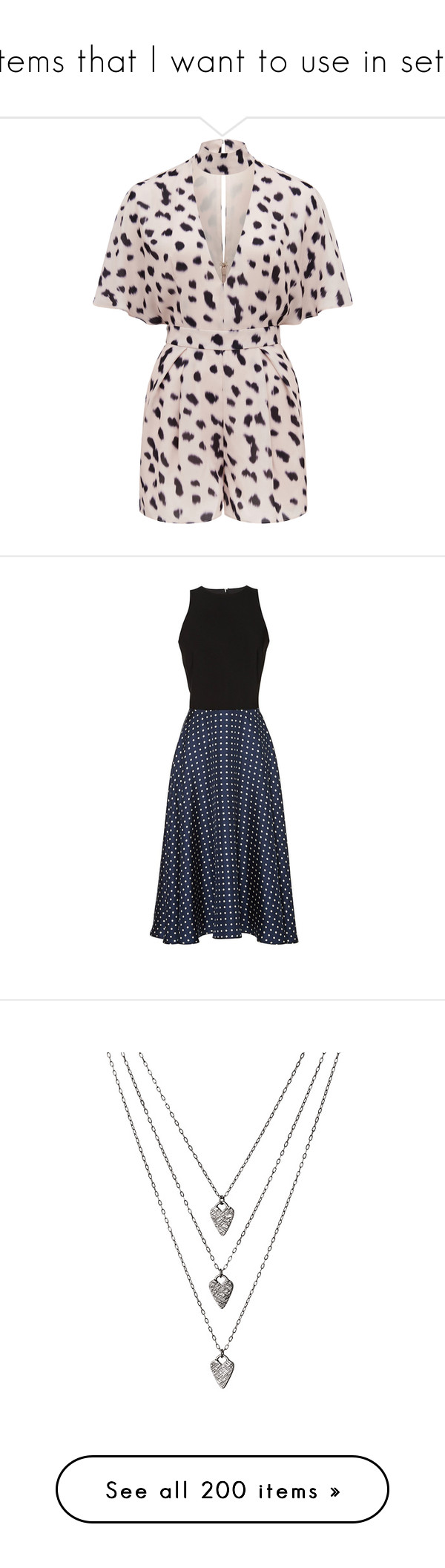 """""""Items that I want to use in sets"""" by danisalalkamis ❤ liked on Polyvore featuring dresses, mid length dresses, navy sleeveless dress, navy dress, swing dress, navy blue dress, jewelry, necklaces, accessories and collares"""