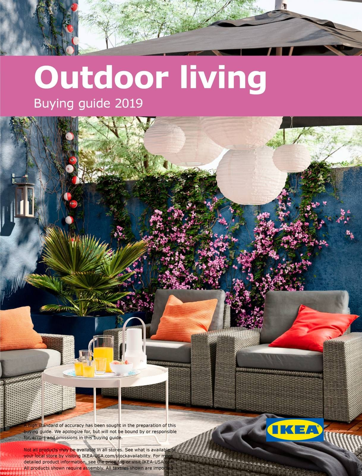 Outdoor Living Ing Guide 2019