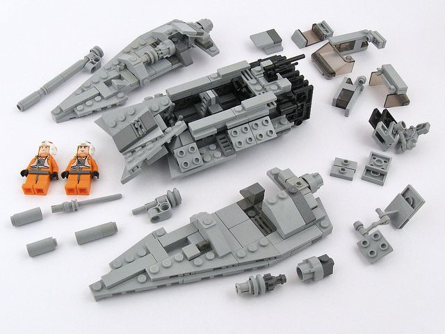 T-47 Instructions Part 6 | Legos, Legos and Lego star wars