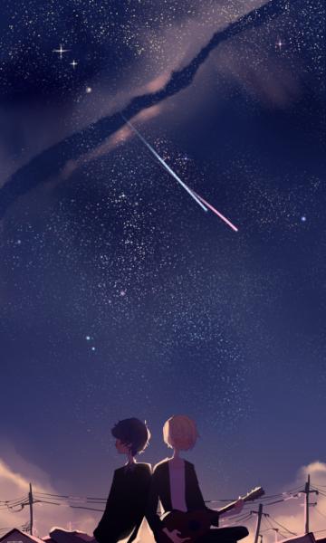 Soraru Tumblr Anime Wallpaper Anime Galaxy Anime Hug