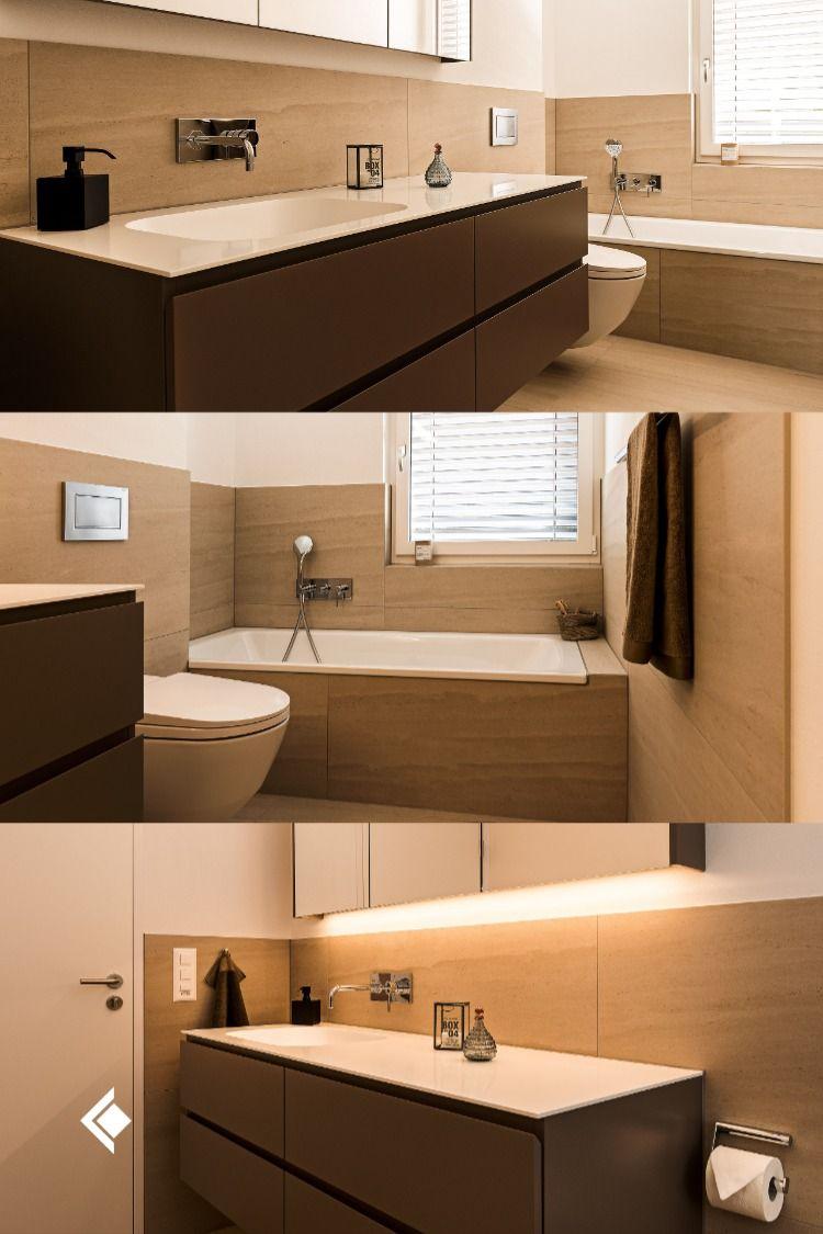 Warme Erdtone Im Badezimmer In 2020 Badezimmer Badezimmer Mobel Lavabo