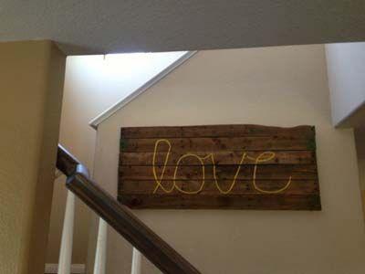 15 ideas para decorar con palets de madera Palets madera, Palets - decoracion con madera en paredes