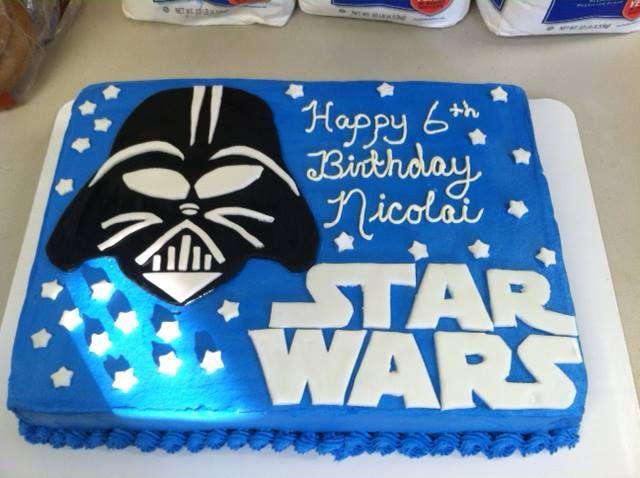 Star Wars Cake With Images Star Wars Birthday Cake Star Wars