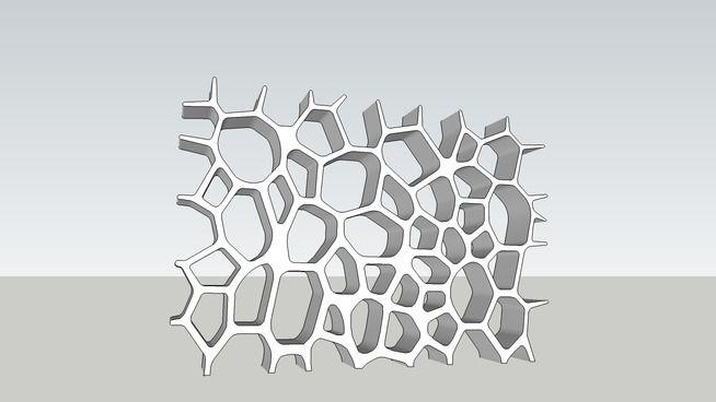 VoronoiMarbleBookcaseMarkNewson - 3D Warehouse
