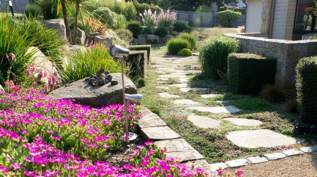 Allée de jardin : nos conseils pour la réaliser | Allée, Jardins ...