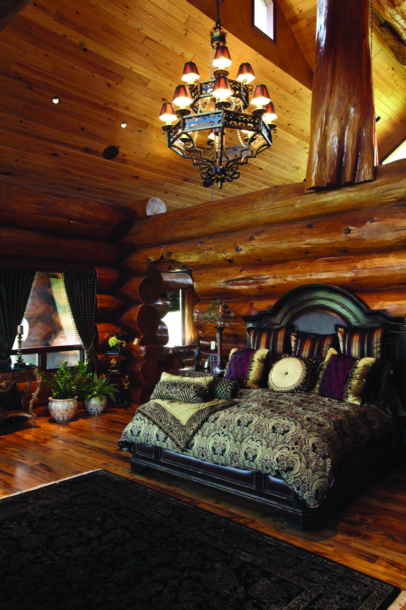 Rustic Bedroom Ideas With Images Log Home Bedroom Log Cabin
