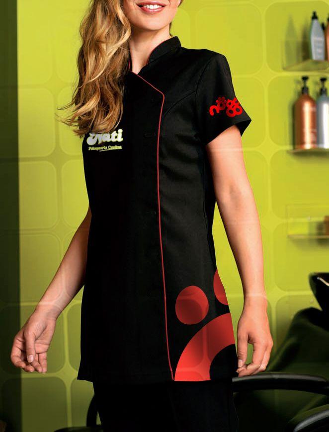 Para salones de belleza y o est ticas uniformes - Diseno de salon ...