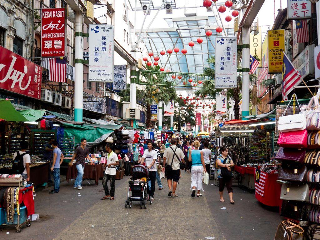 Kuala Lumpur Petaling Street Chinatown In Kuala Lumpur Oh The