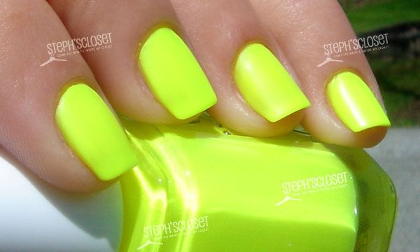 Essie Funky Limelight Nail Polish | Nailed It! | Pinterest | Hair ...