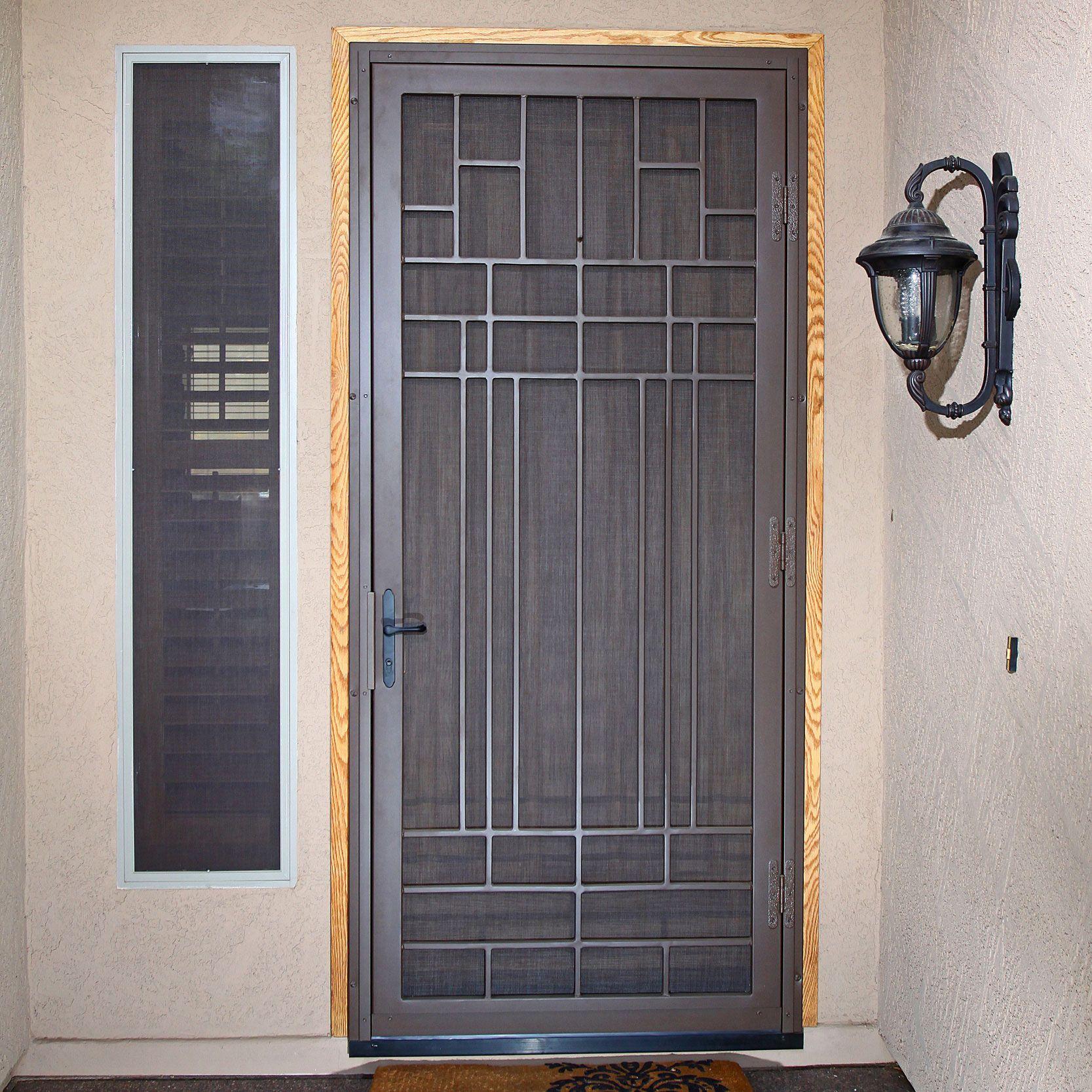 Penasco Security Screen Door Modelos De Puertas Modelos De