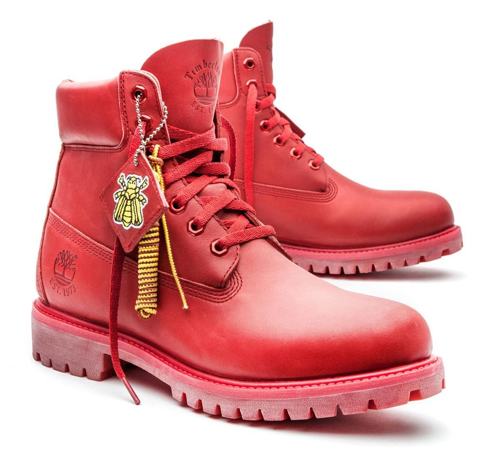 29d30d190dea Bee Line for Billionaire Boys Club x Timberland Red Boot