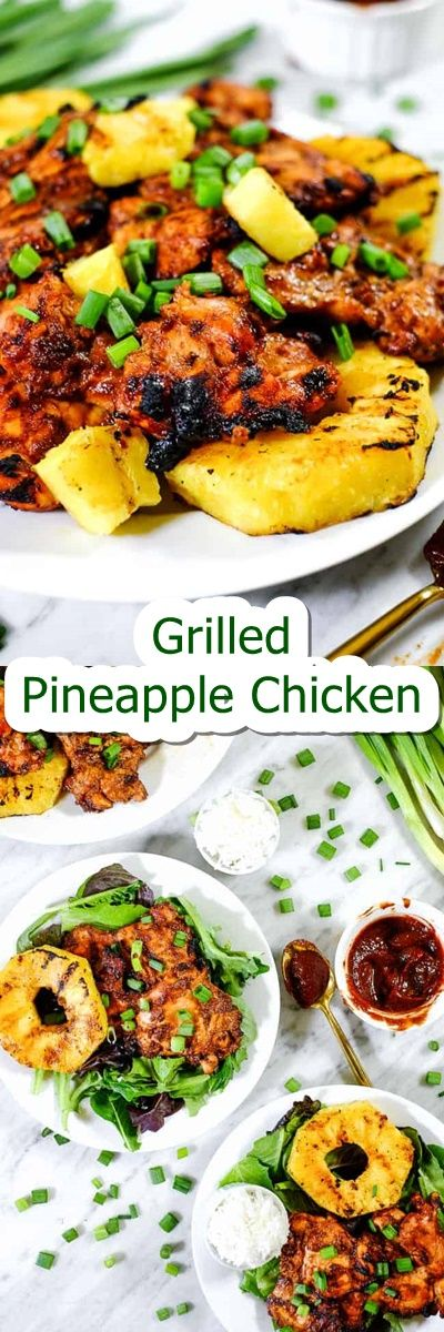Grilled #Pineapple #Chicken #(Paleo # #Whole30) How have you ever been having fun with our grilled summer season recipes up to now this summer? This Paleo  Whole30 grilled pineapple fowl would possibly simply be my private favorite! Its got this smoky fish fry flavor with a trace of sweetness and that grilled pineappledoes it even get any better? Healthy summer season dinners have by no means tasted so good!  The style of the fowl marinade for this recipes is sort of a cleaned up Hawaiian BBQ sa #hawaiianfoodrecipes