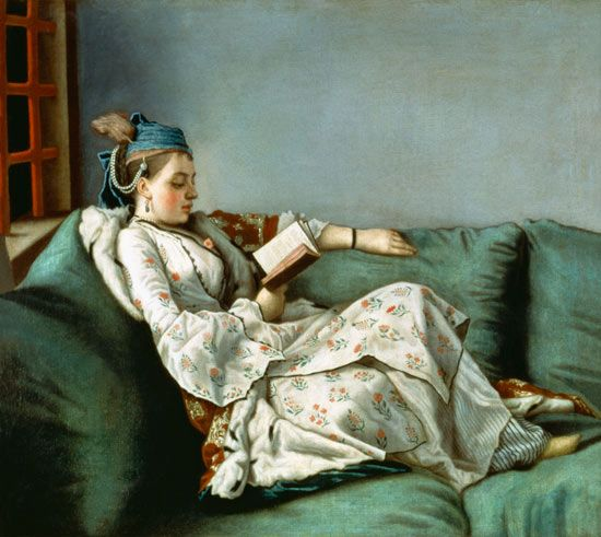 Jean-Etienne Liotard (Swiss artist, 1702-1789) Marie-Adelaide de France in Turkish Costume