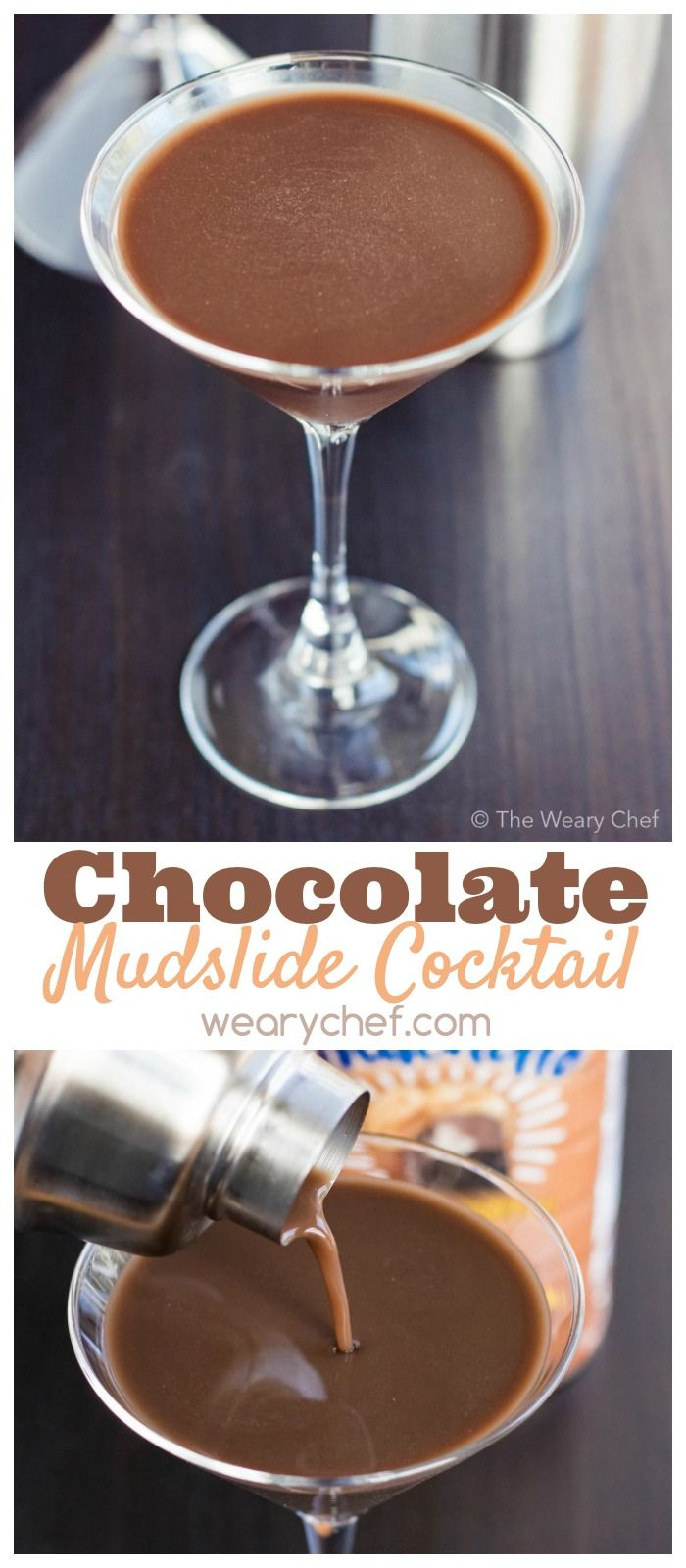 Chocolate Mudslide Cocktail